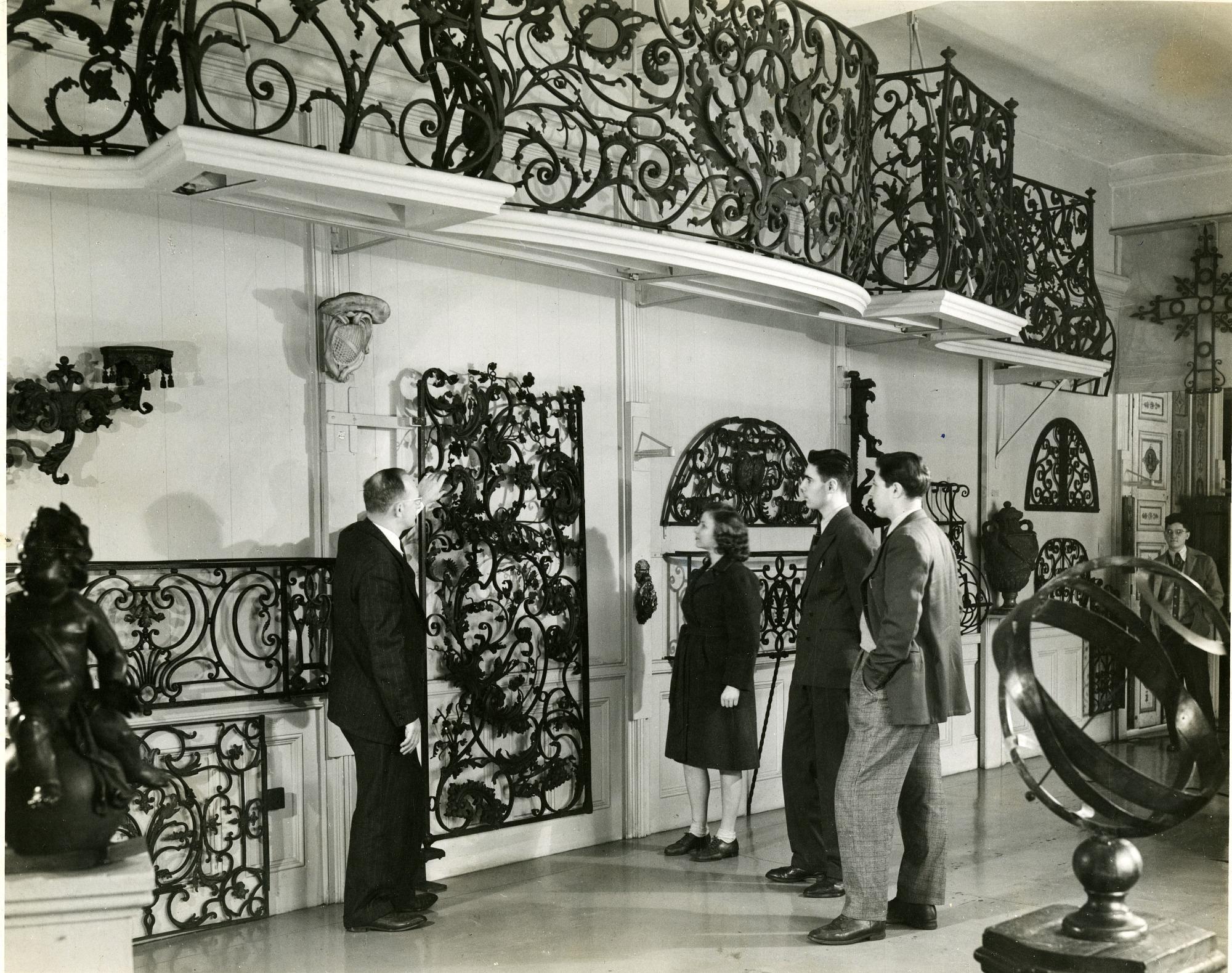 Cooper Union Museum's Metalwork Gallery