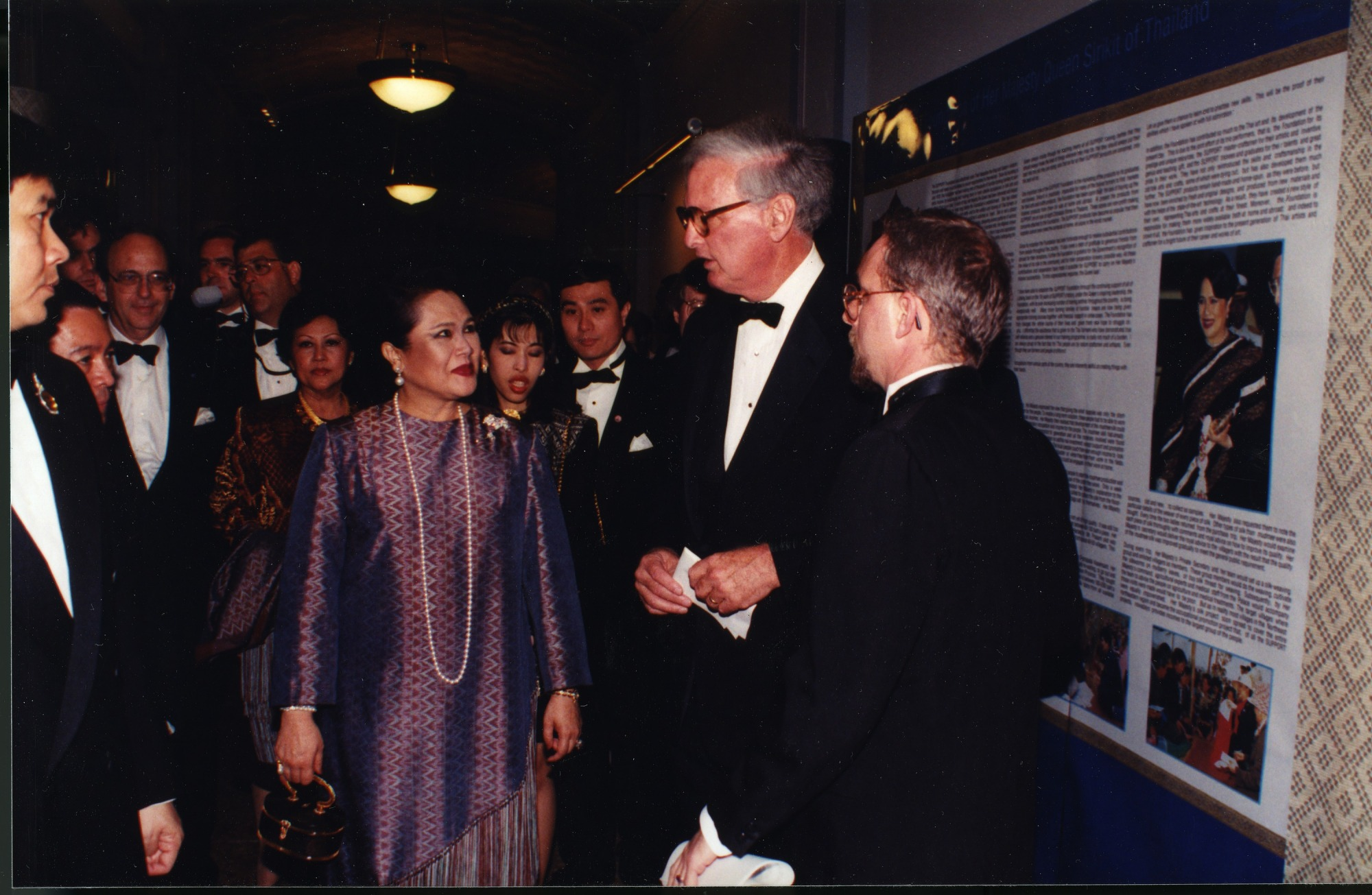 Queen Sinkit of Thailand and Secretary Heyman