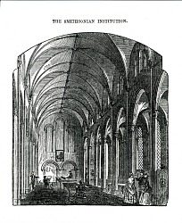 Reading Room in the Smithsonian Institution Building