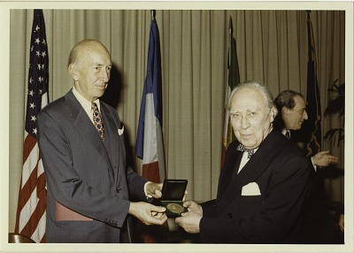 Secretary Ripley Presents Sixth Freer Medal to Roman Ghirshman