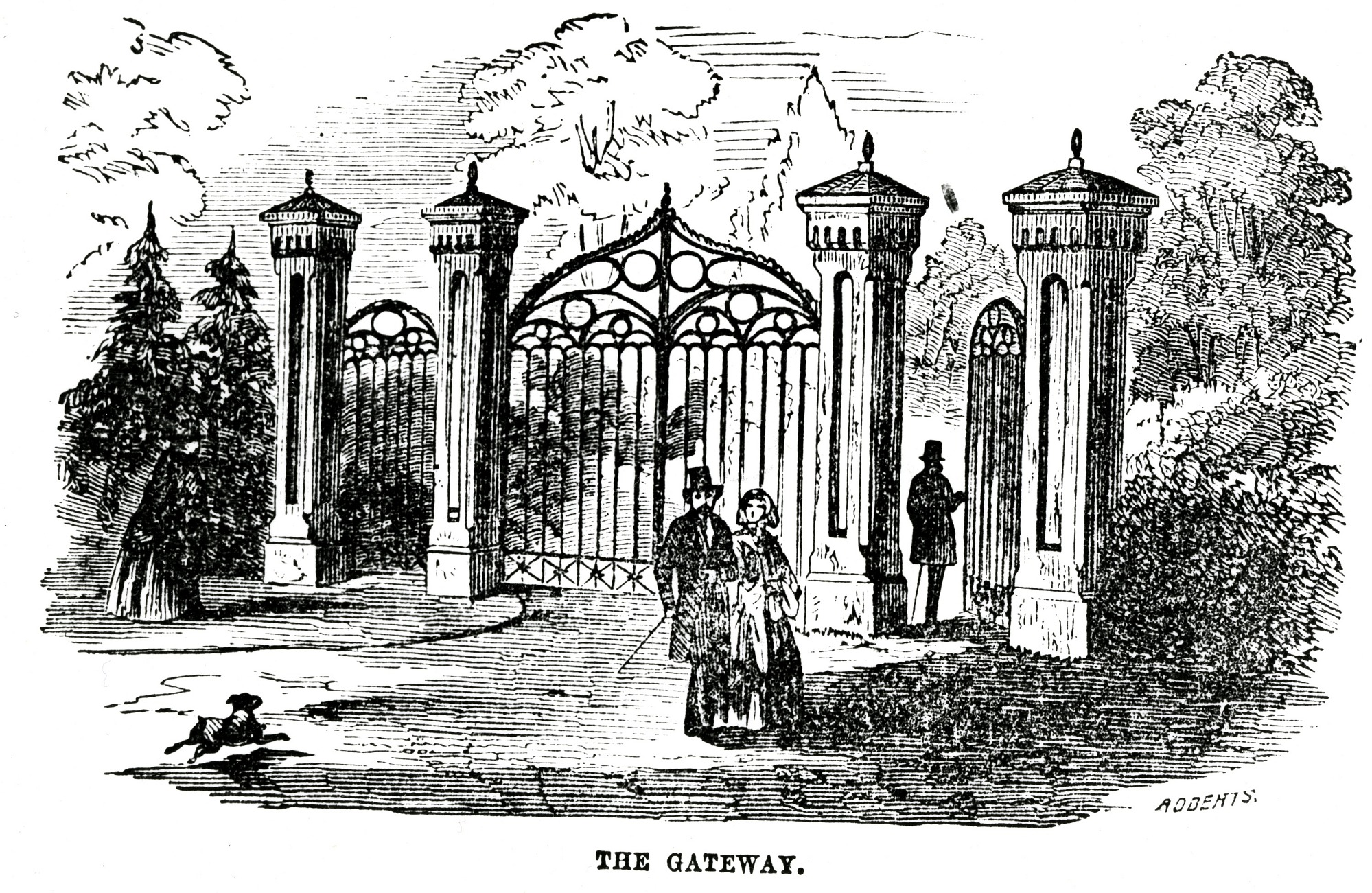 images for Gateway of the Smithsonian Institution Building