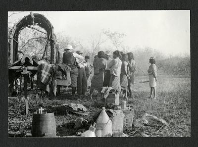 Secretary Wetmore's Camp at Puerto Pinasco, Paraguay