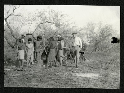 Alexander Wetmore in Paraguay with Lengua Indians
