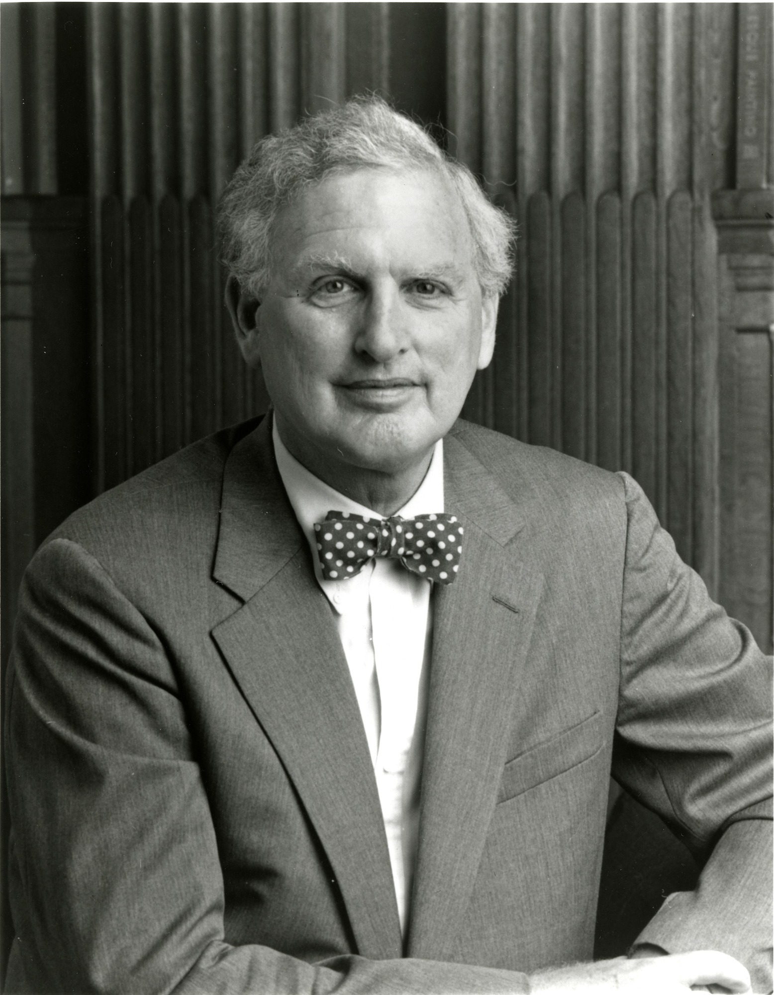 I. Michael Heyman, by Unknown, 1994, Smithsonian Archives - History Div, SIA2012-1119 and 98-015.