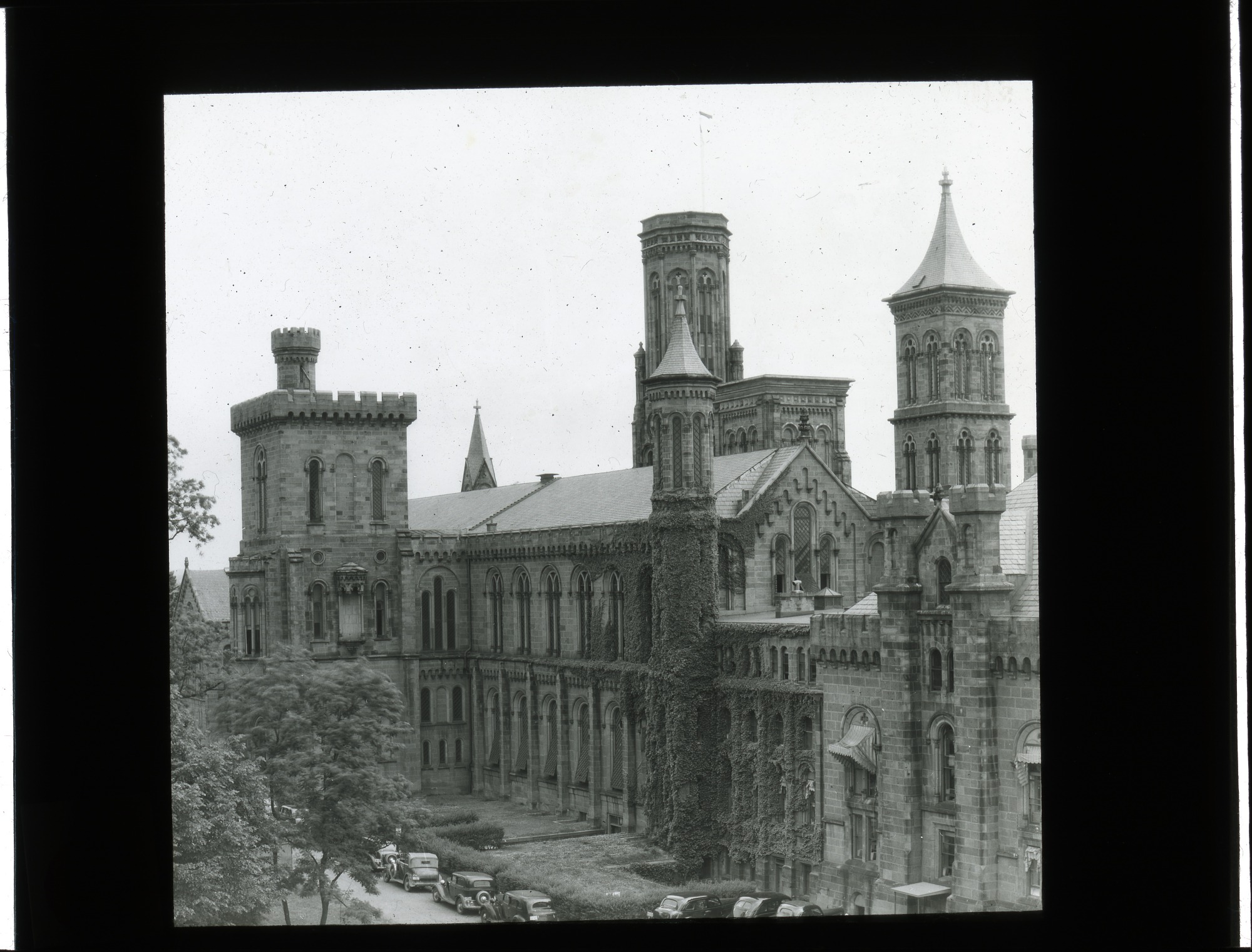 Exterior of the Smithsonian Institution Building, or Castle
