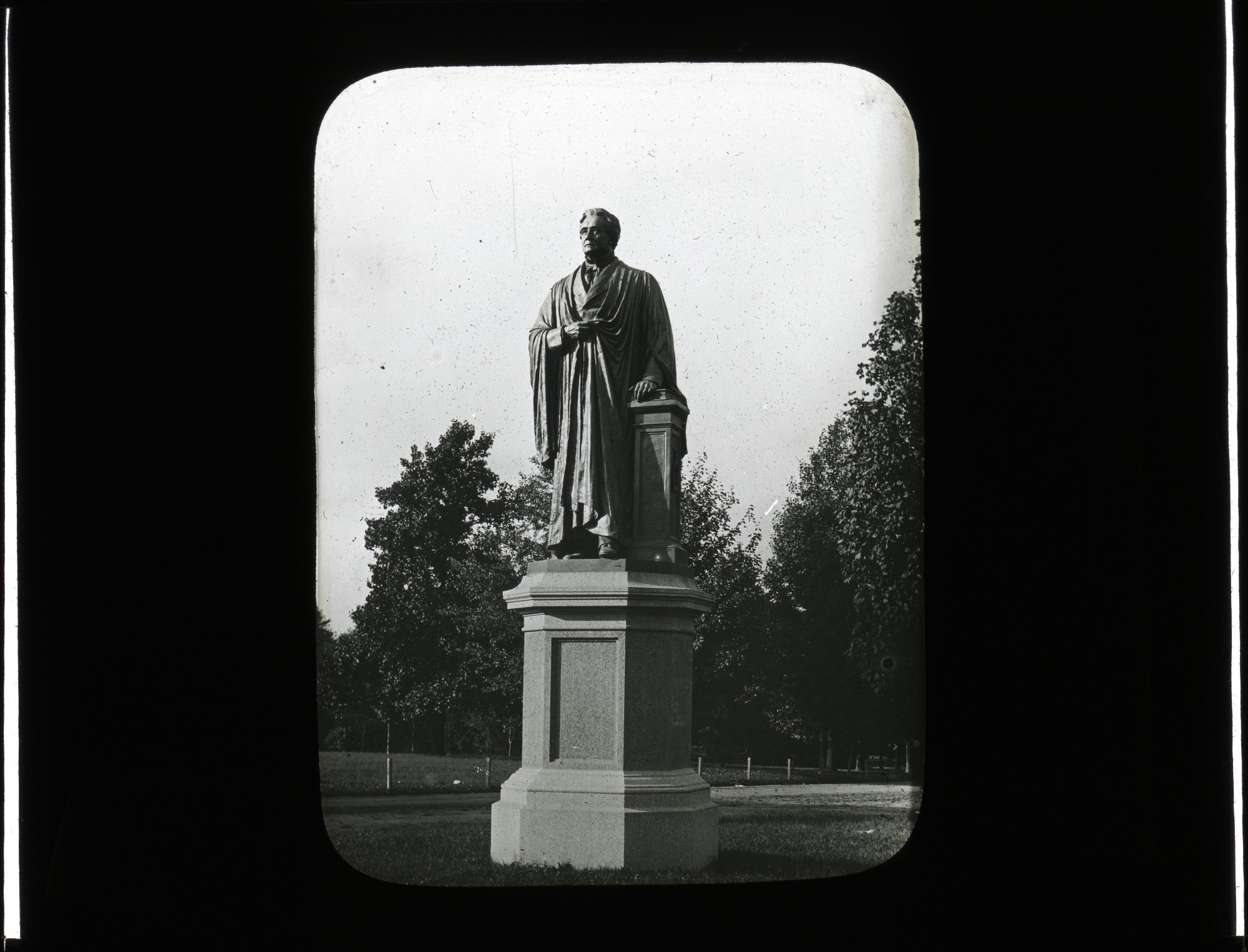 Joseph Henry Statue, 1883, Smithsonian Institution Archives, SIA Acc. 12-492 [SIA2012-2797].