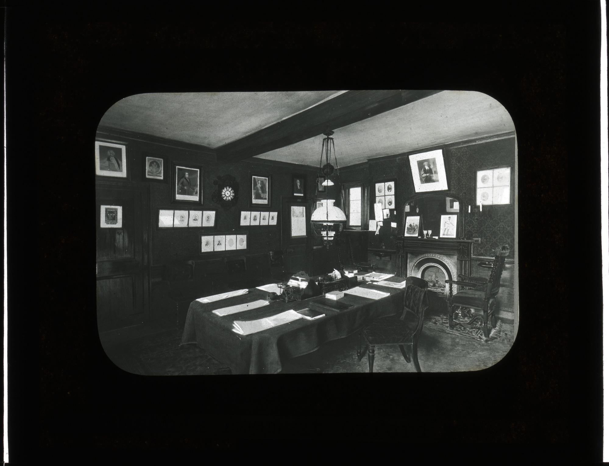 James Smithson's room at Pembroke College, Oxford College, 1894