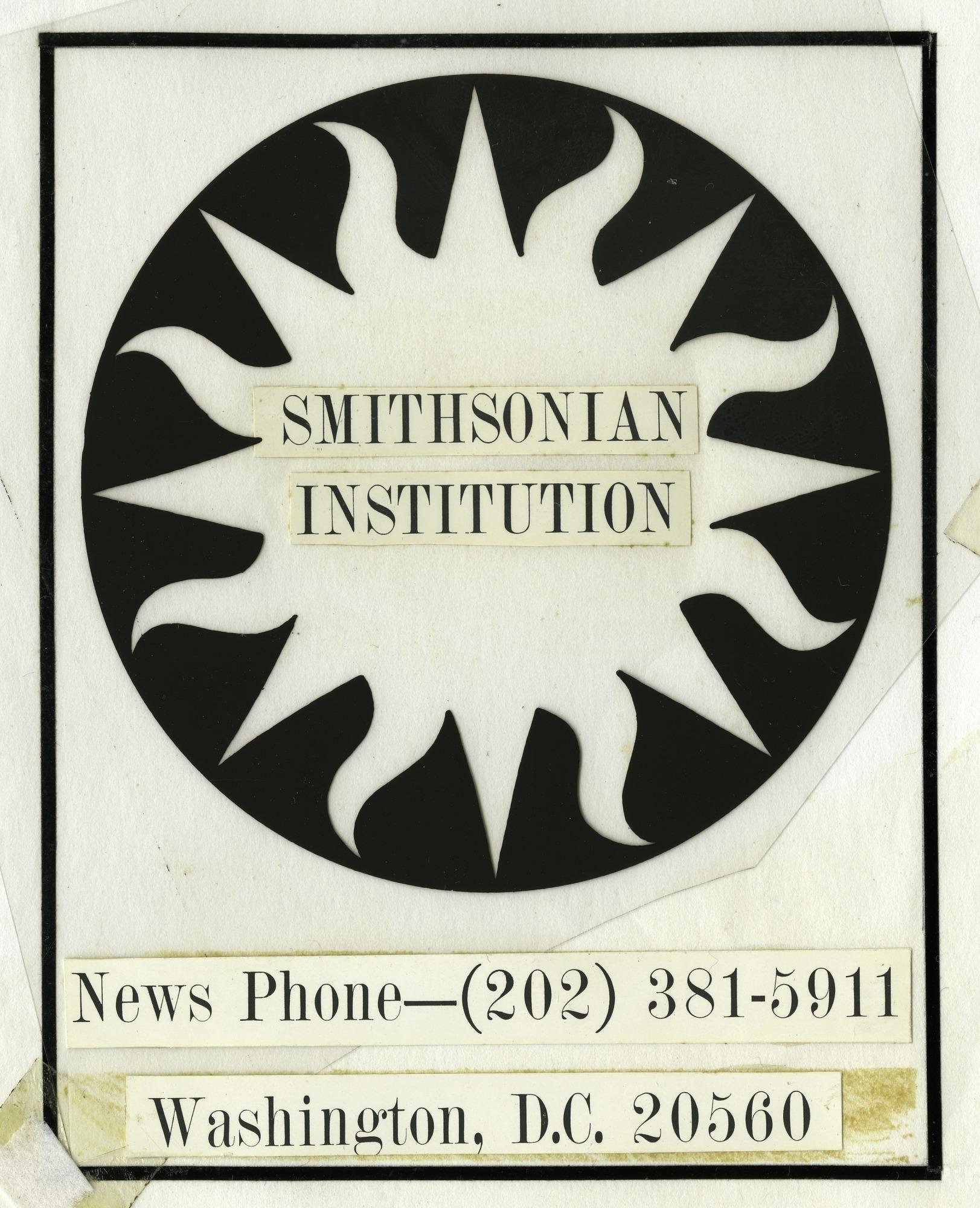 Smithsonian Logo 1966 Mock-up