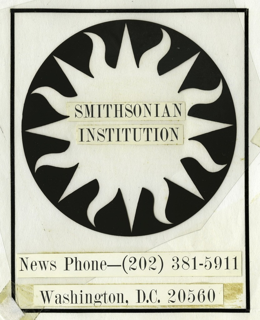 Jun 3 Smithsonian Logo 1966 Mock-up