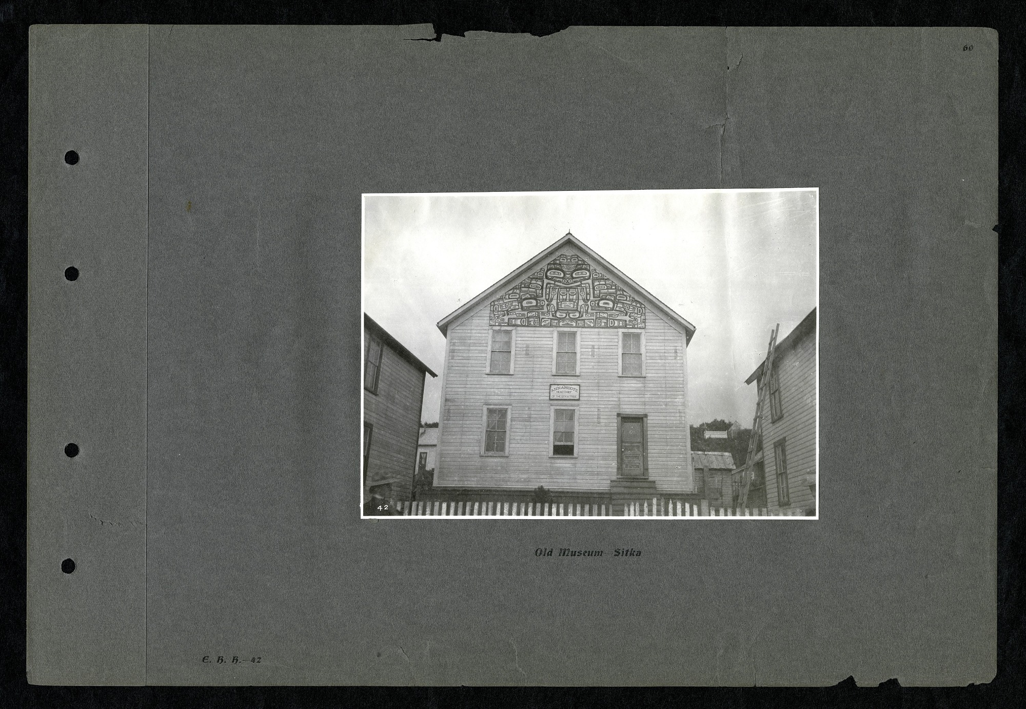 Old Museum--Sitka 1899, 1899, Smithsonian Institution Archives, SIA RU007243 [SIA2012-3691].