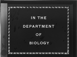 In the Department of Biology