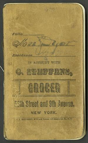 H. G. Dyar bluebook 376 - 400, 1893-1901, Smithsonian Field Book Project, SIA Acc. 12-447.