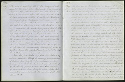 Mary Henry Diary Entry Foundling Left at the Castle Door, June 1, 1863