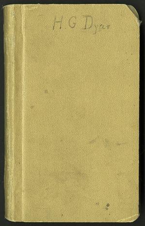 H. G. Dyar bluebook 1913 - 1918, 1913-1918, Smithsonian Field Book Project, SIA Acc. 12-447.