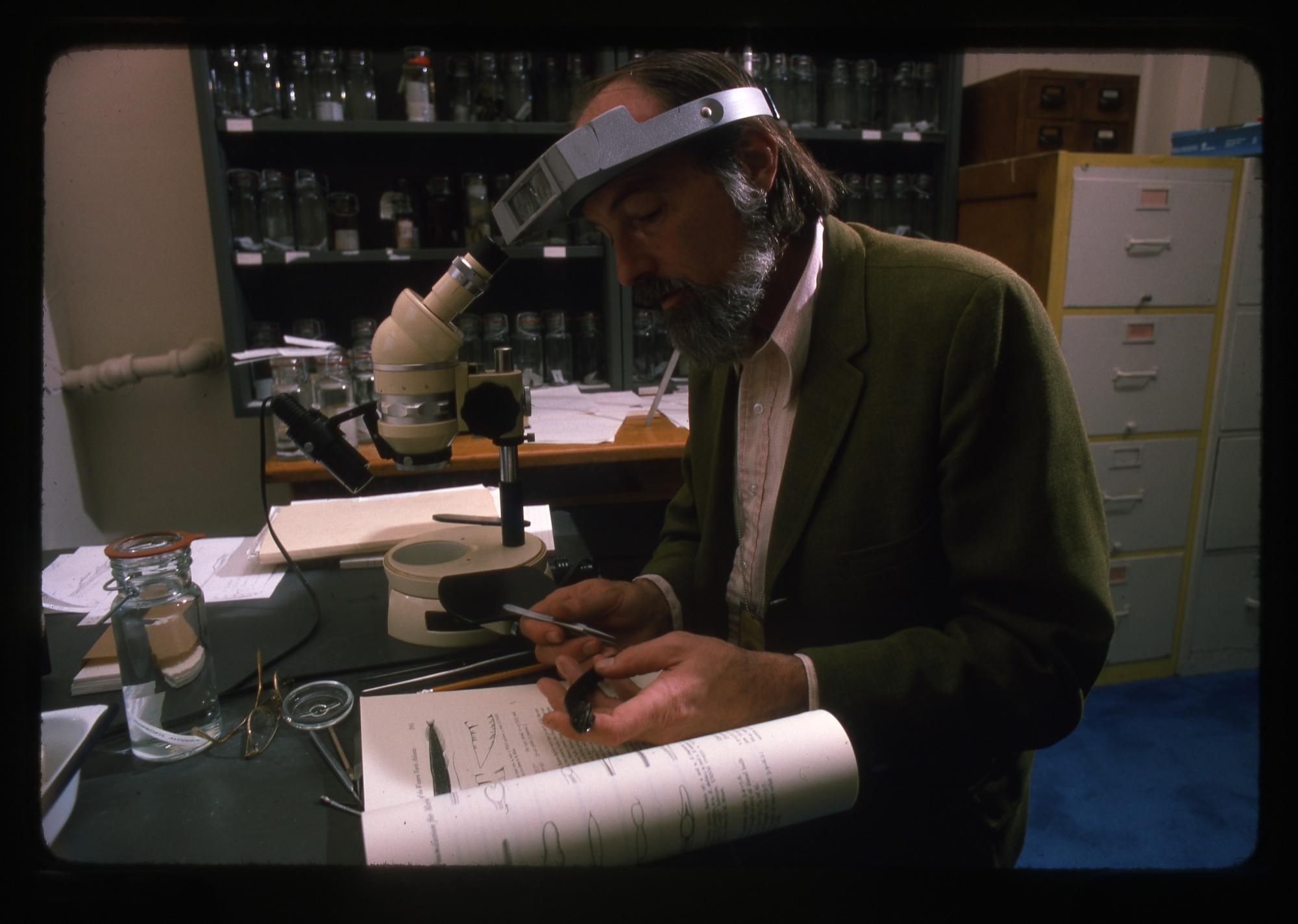 Robert H. Gibbs, Jr., Examining Fish