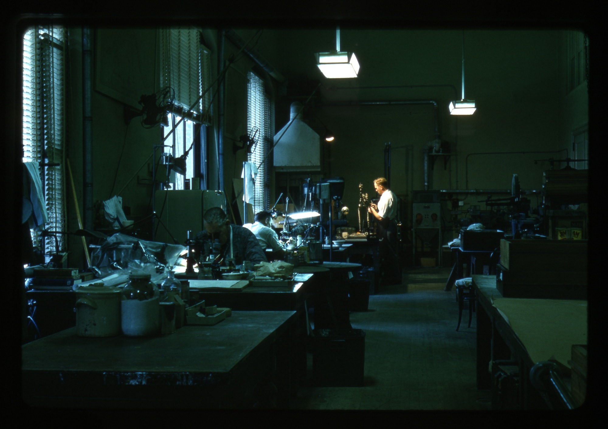 Nick Hotton in Laboratory