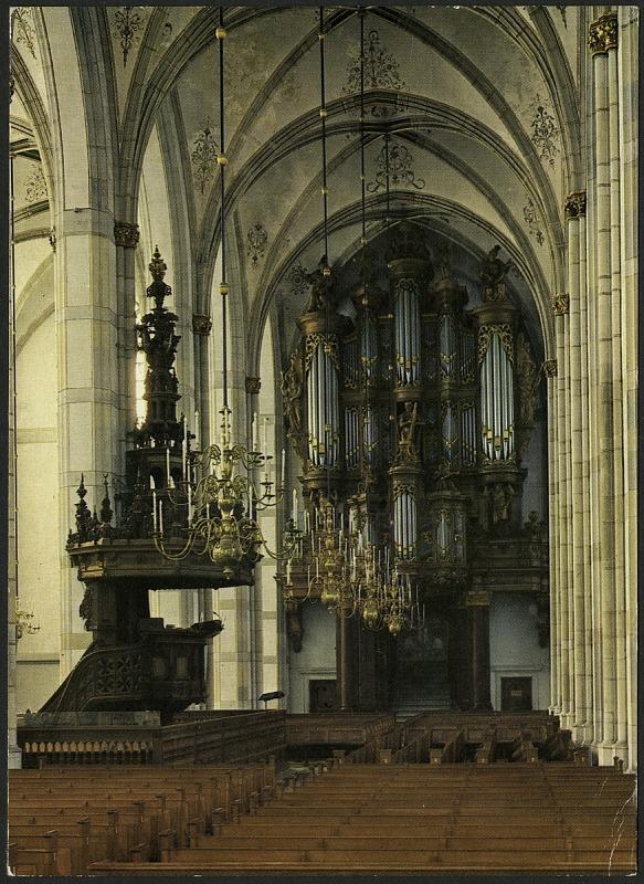 Image 1 for Postcard of Organ at St. Michaelskerk