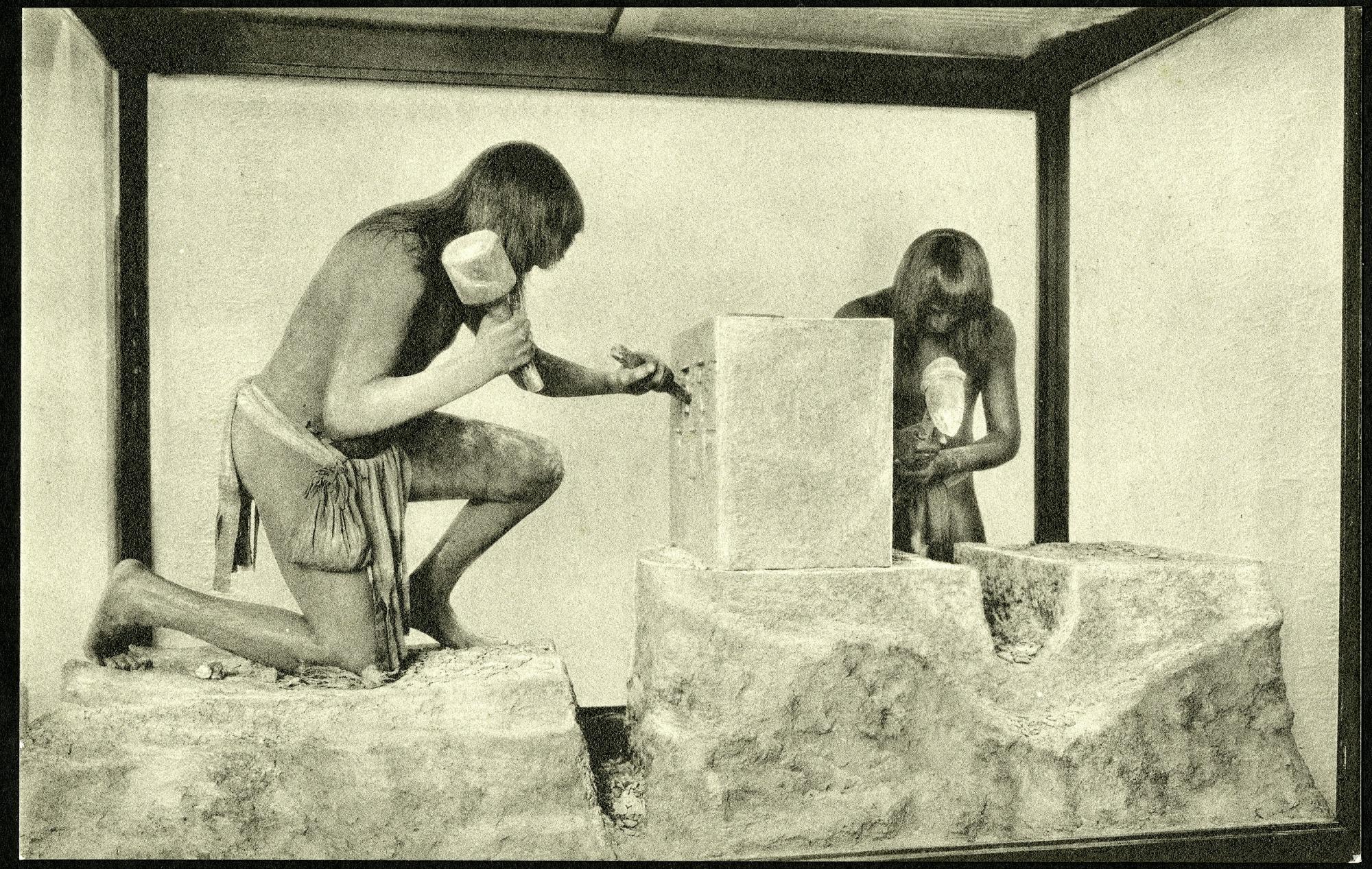 Postcard of Toltec Indians