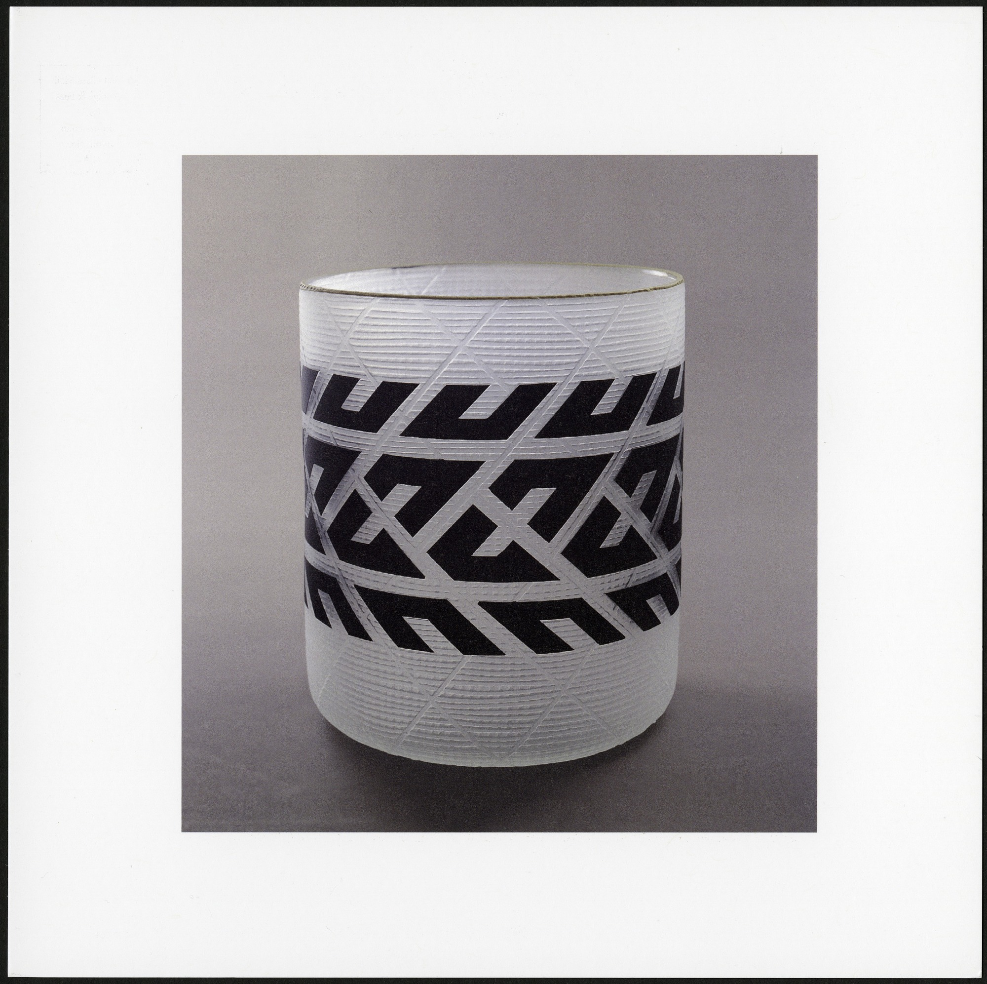 """Postcard of """"Tire"""" Cup"""