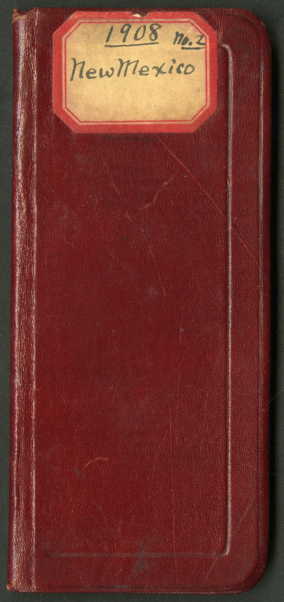 Field notes, New Mexico, October 12-November 15, 1908