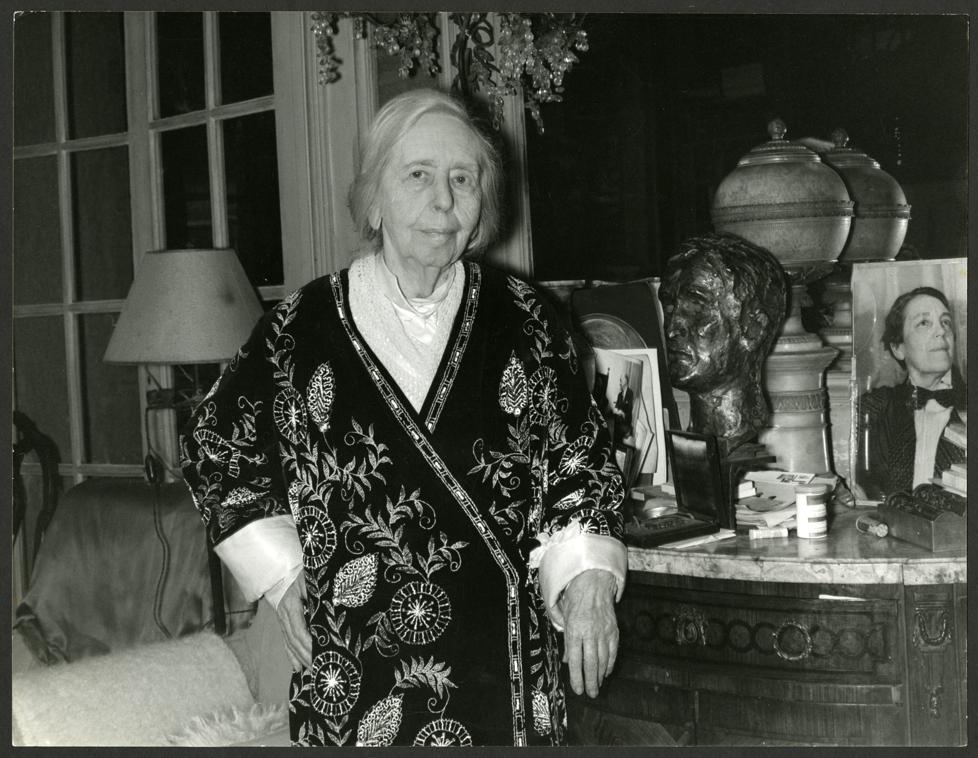 Natalie Clifford Barney, 1965, Smithsonian Institution Archives, SIA Acc. 96-153 [SIA2014-03838].