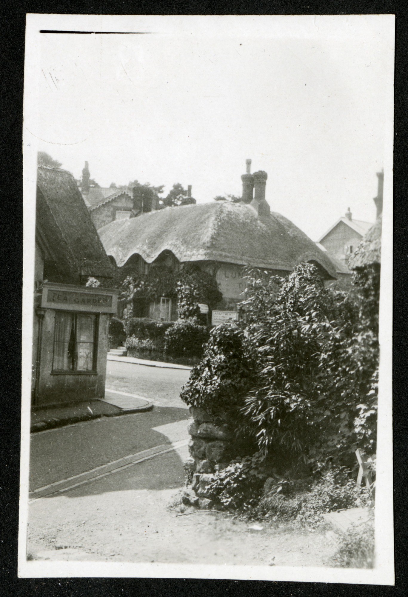 Thatched cottage, 1925, Smithsonian Institution Archives, SIA RU007091 [SIA2015-003200].