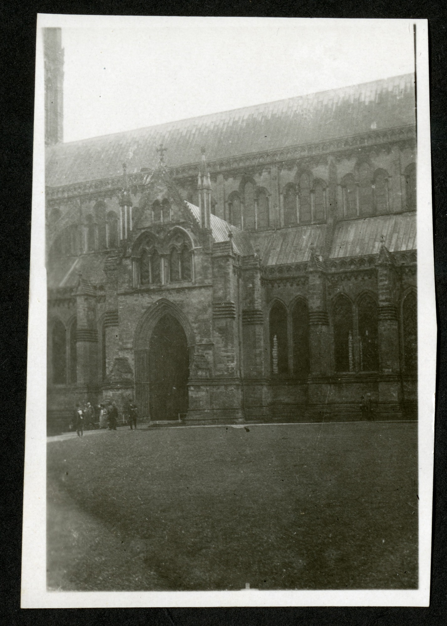 Salisbury Cathedral, 1925, Smithsonian Institution Archives, SIA RU007091 [SIA2015-003201].