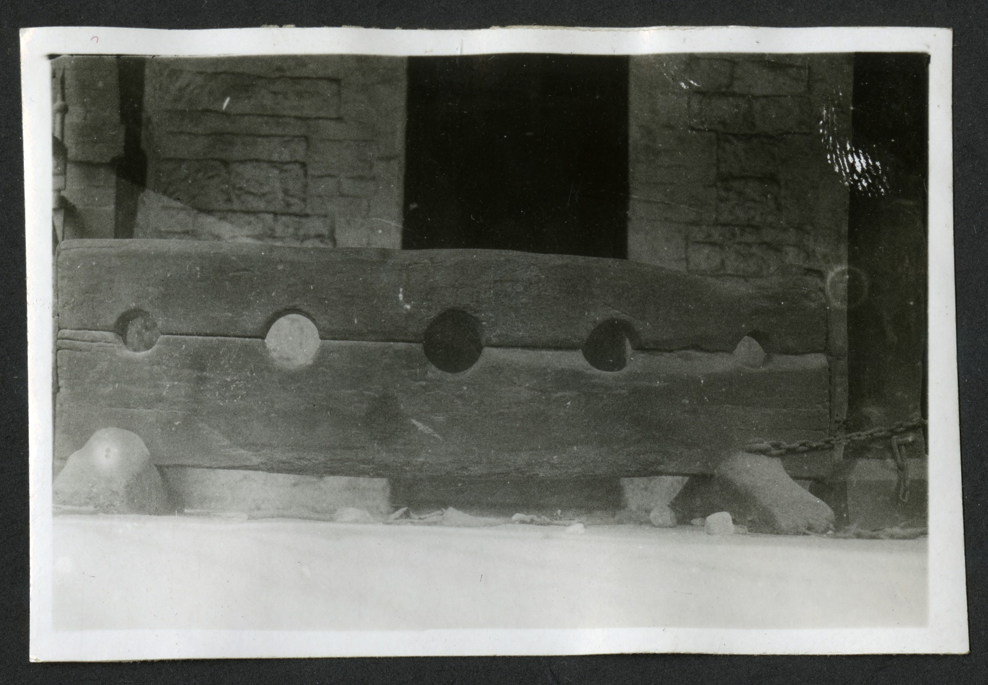 Five-Hole Stocks (possibly at Brading, Isle of Wight)