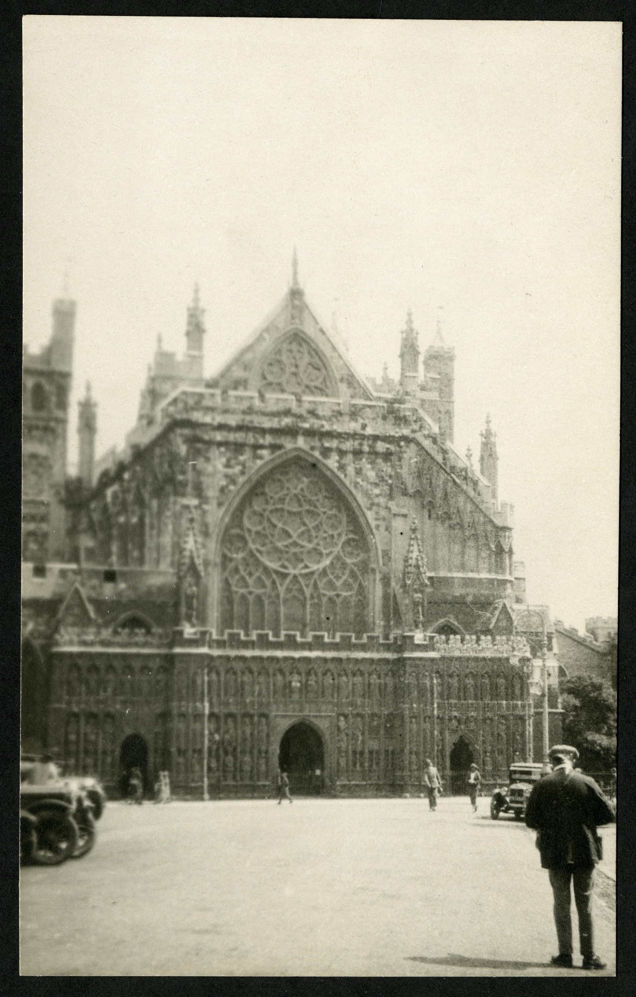 Exeter Cathedral, 1925, Smithsonian Institution Archives, SIA RU007091 [SIA2015-003210].