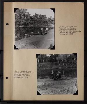 Album 1 Panama, 1957, volume 1, 1957, Smithsonian Field Book Project, SIA RU007006.