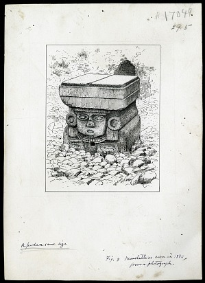 Teotihuacan, Mexico, 1884, 1884, Smithsonian Field Book Project, SIA RU007084.