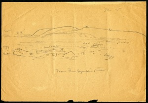 Tiahuanaco, Bolivia, 1909, 1909, Smithsonian Field Book Project, SIA RU007084.