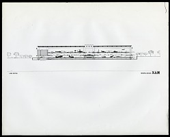 Concept drawing for National Air Museum Building