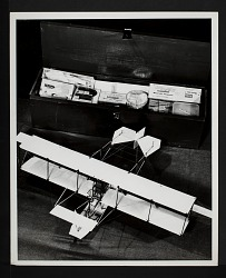 Model of Wright Brothers' Airplane