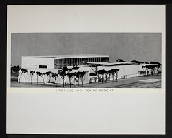 Concept Model of Exterior for New National Air Museum