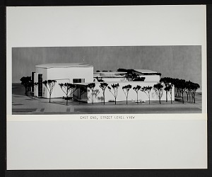 Image of Concept Model of East End for New National Air Museum