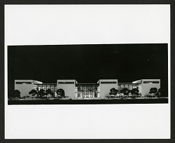 Concept Model of Exterior for National Air & Space Museum