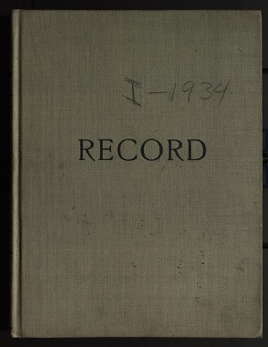 Hancock Pacific-Galapagos Expedition, 1934 : diary, December 24, 1933 - March 10, 1934, original, volume 1