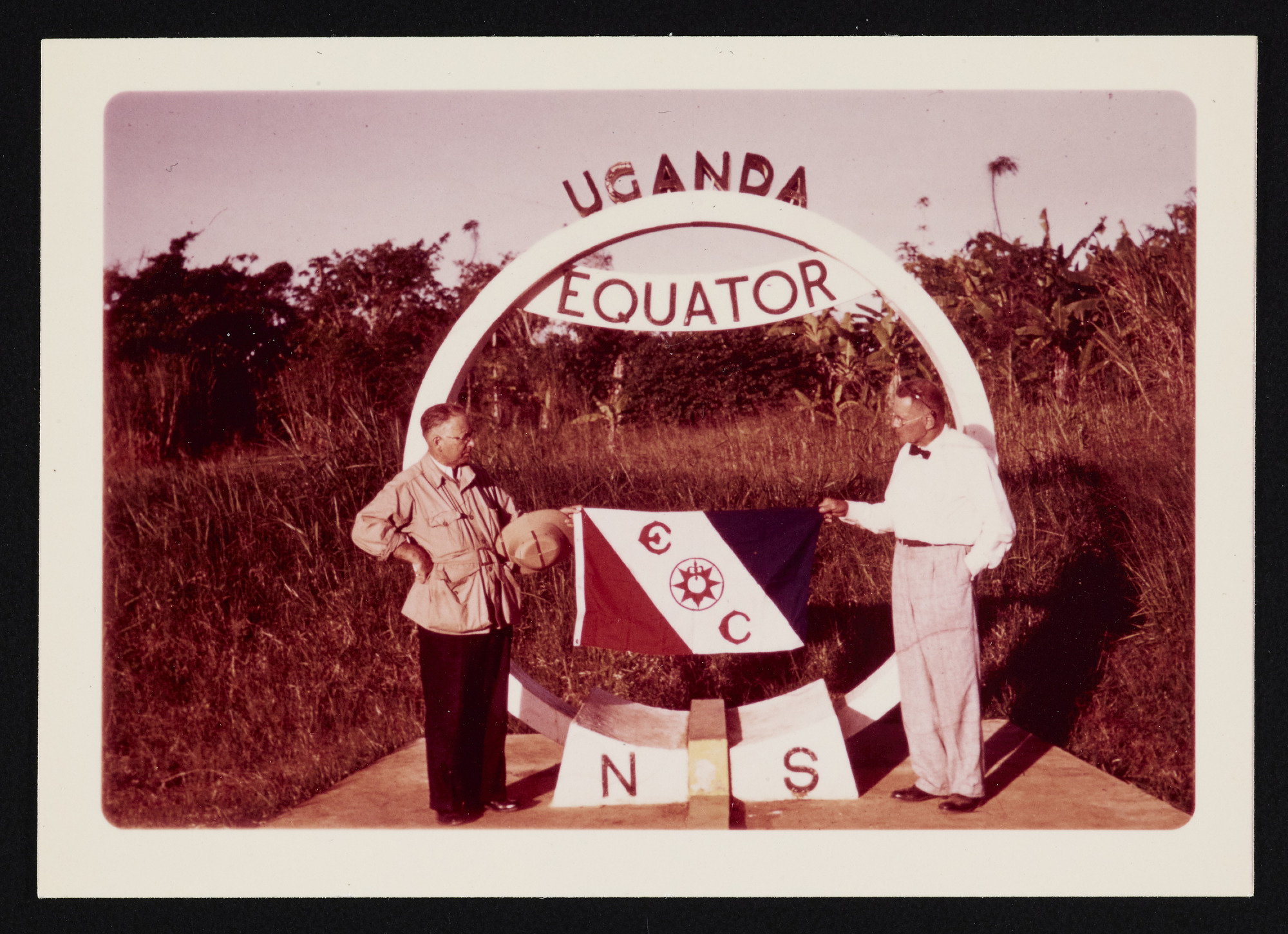 Smithsonian-Bredin Belgian Congo Expedition : color photograph (2 of 3)