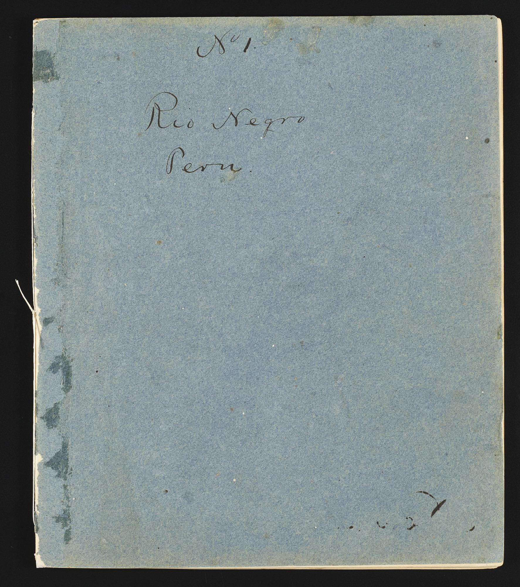 Original notebooks of the botanist, volumes 1 - 4, Peru