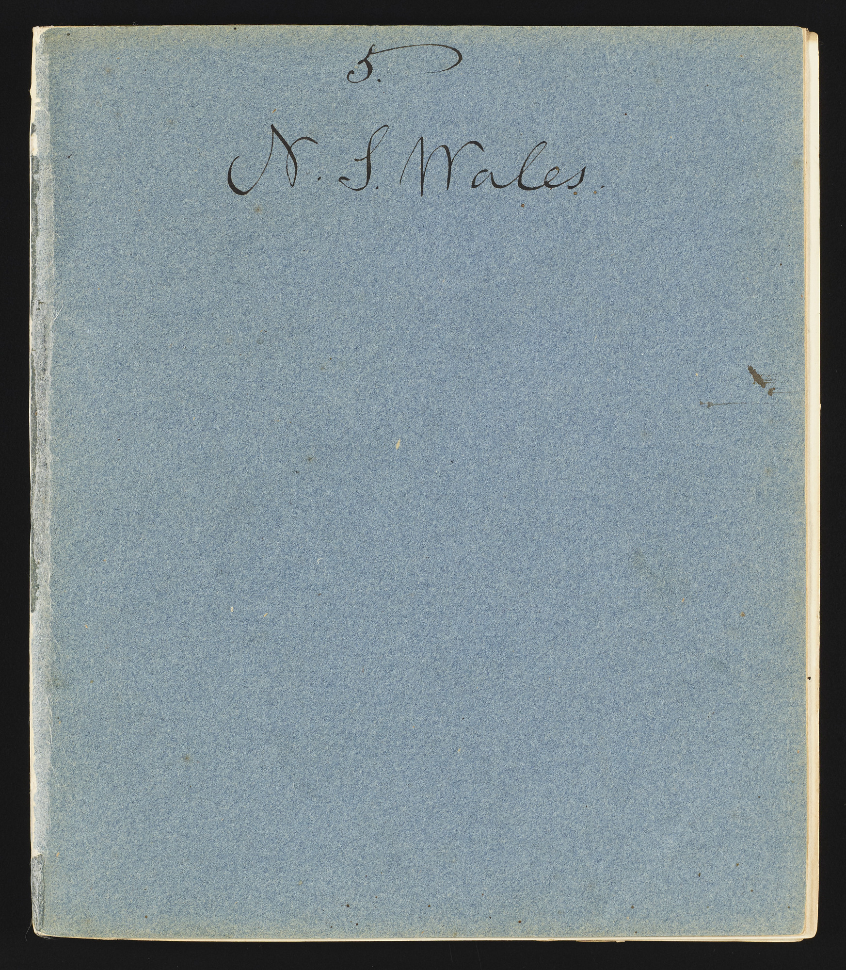 Original notebooks of the botanist, volumes 5 - 6, New South Wales (Australia)