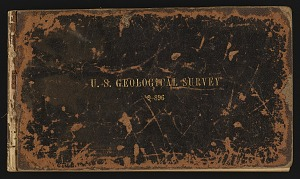 Field notes, New England, undated, 1887-1933, Smithsonian Field Book Project, SIA RU007242.