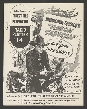 "Hopalong Cassidy's ""Fire on Capitan: The True Story of Little Smokey"" Script"