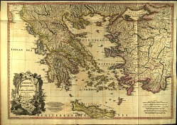 Greece, Archipelago and Part of Anadoli from The antiqvities of Athens.