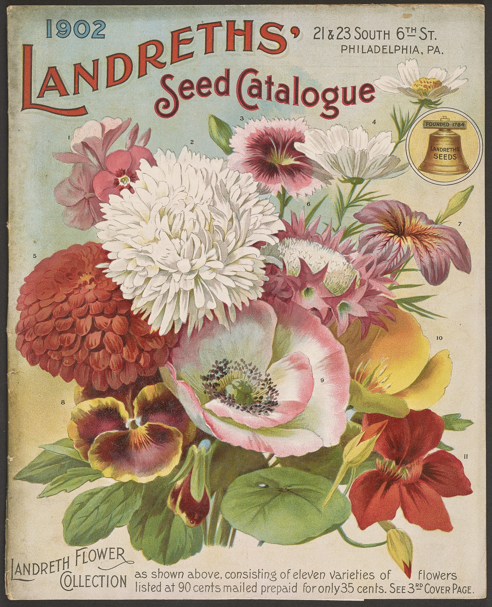 D. Landreth & Sons, Landreth Seeds, 1902