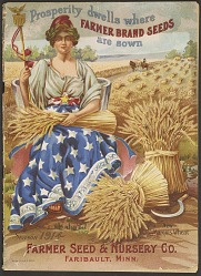 Farmer Seed and Nursery Co., Seed catalog: Prosperity dwells where Farmer brand seeds are sown, 1914