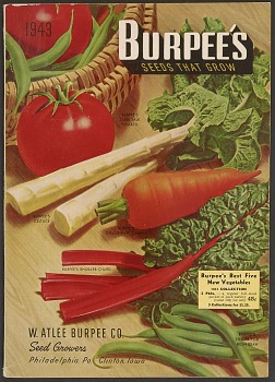 W. Atlee Burpee & Co. Seed catalog: Burpee's Seeds Grow, 1945