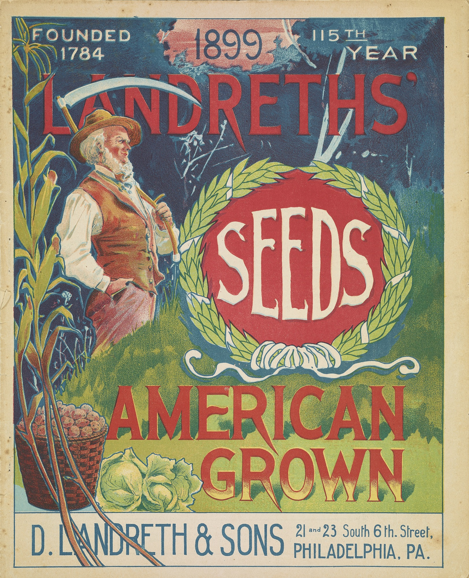 D. Landreth & Sons seed catalog, 1899.