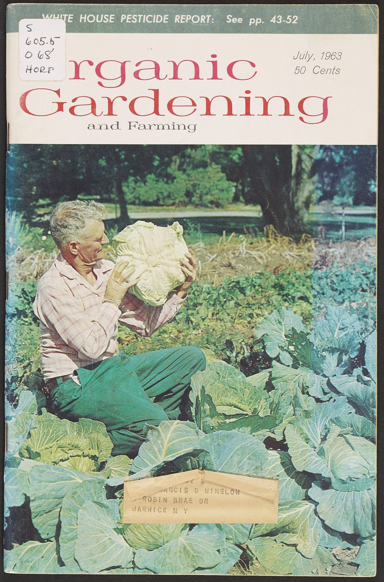 Organic Gardening and Farming, July 1963