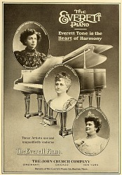 The Everett piano from American homes and gardens.